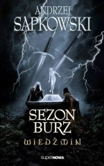 The Polish Cover of Season of Storms by Andrzej Sapkowski, Sezon Burz