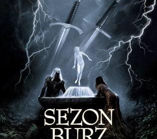 The Polish Cover of Season of Storms by Andrzej Sapkowski, Sezon Burz